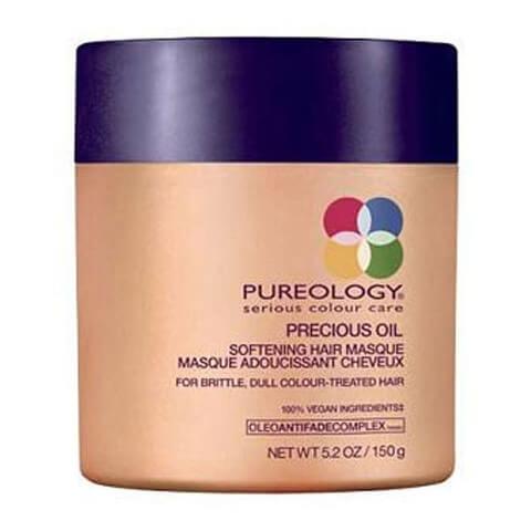 Pureology Satin Soft Precious Oil Masque adoucissant cheveux (150g)