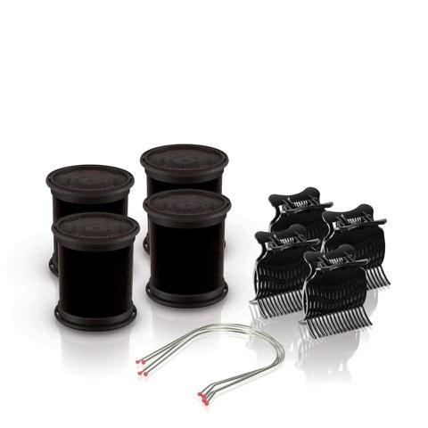 Diva Session Instant Heat 50mm Wickler, Clips & Pins (Set von 4)