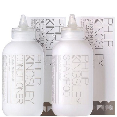Philip Kingsley No Scent No Colour Haapflege ohne Duft & FarbstoffeDuo - Shampoo & Conditioner