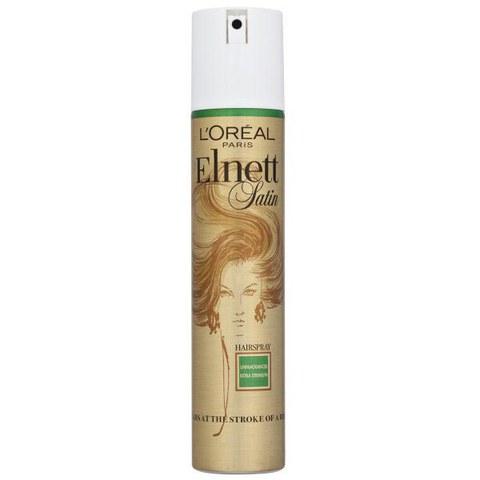 L'Oreal Paris Elnett Satin Hairspray (Unfragranced) - Extra Strength (200ml)