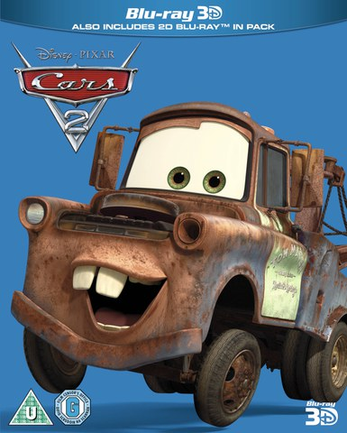 Cars 2 3D (Includes 2D Version) - Limited Edition Artwork (O-Ring)