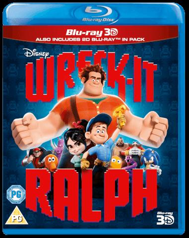 ¡Rompe Ralph! 3D (versión 2D incl.)