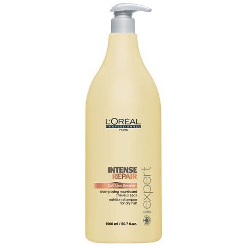 L'Oreal Professionnel Serie Expert Intense Repair Shampoo (1500ml) and Pump