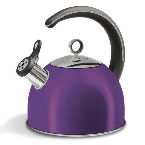 Morphy Richards 46503 Accents Whistling Kettle - Plum - 2.5L