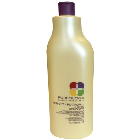Pureology Perfect 4 Platinum Shampoo  (1000ml)