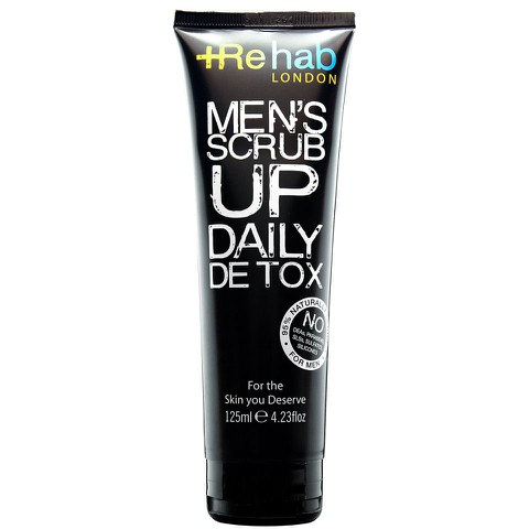 Rehab London Men's Scrub Up Daily Detox (125ml)