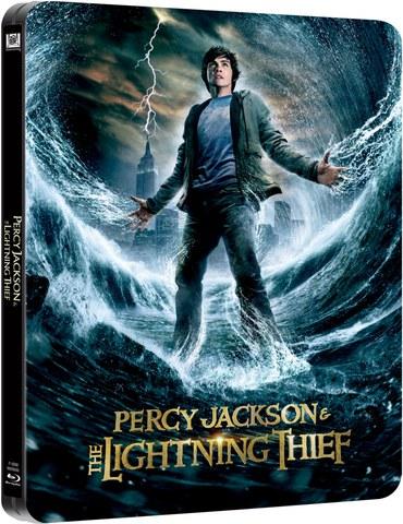 Percy Jackson y el ladrón del rayo - Steelbook de Edición Limitada
