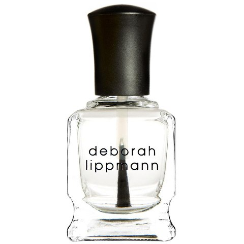 Deborah Lippmann Hard Rock Nail stärkender Base und Top Coat (15ml)