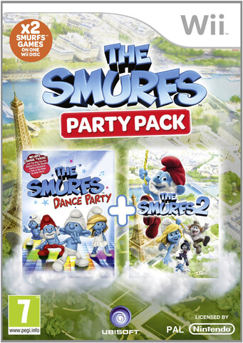 The Smurfs Party Pack