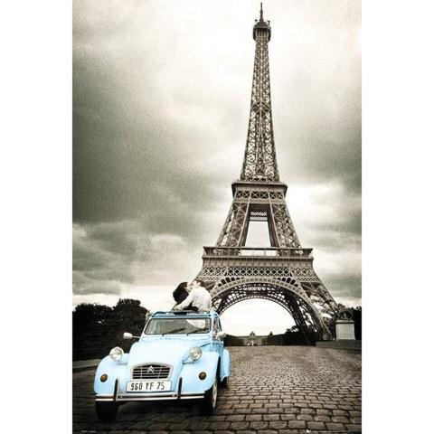 Paris Romance - Maxi Poster - 61 x 91.5cm
