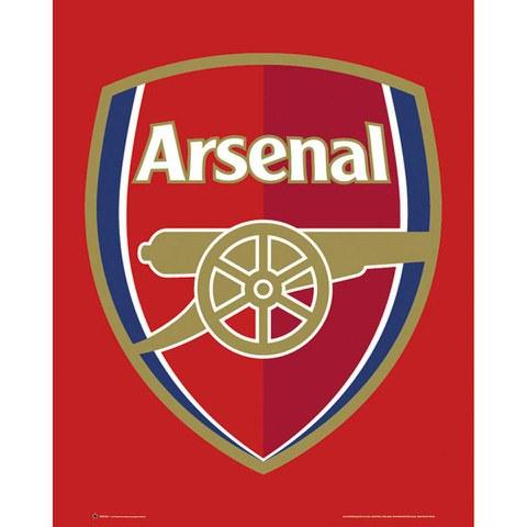 Arsenal Club Crest - Mini Poster - 40 x 50cm