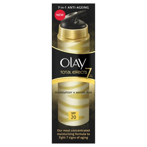 Olay Total Effects 2-in-1 Feuchtigkeitsserum (40ml)