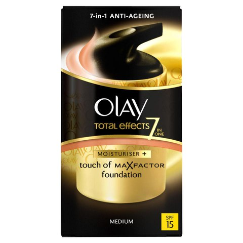 Olay Total Effects Moisturiser BB Cream SPF15 - Medium (50ml)