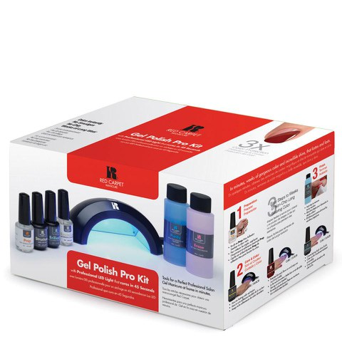 Red Carpet Manicure Professional  LED Kit