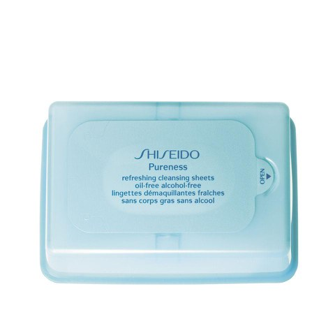 Shiseido Pureness Refreshing Oil Free Cleansing Sheets (30 Sheets)