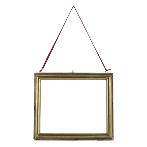 Nkuku Kariba Antique Brass Frame - Antique Brass - Landscape 8 x 10