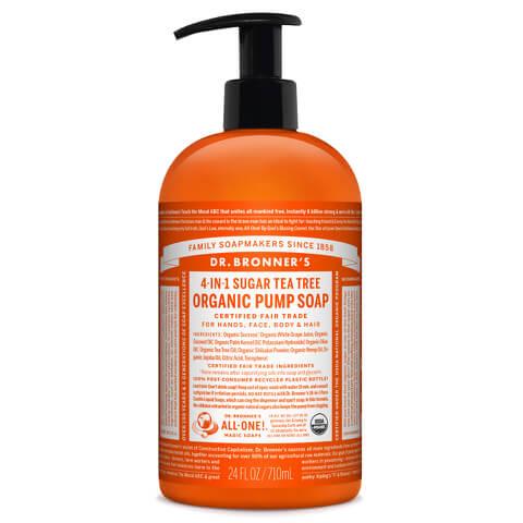 Dr. Bronner Organic Shikakai Tea Tree Hand Soap (709ml)