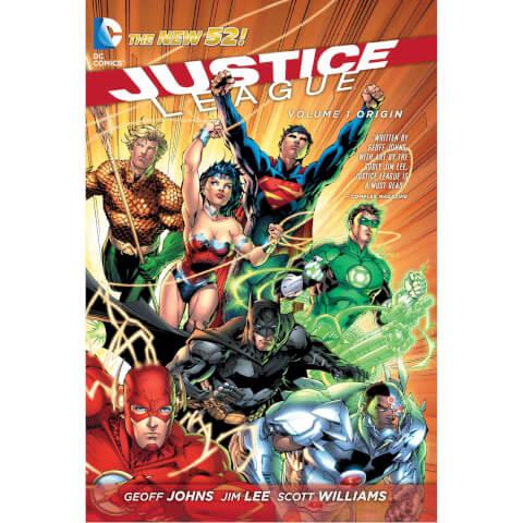 Justice League: Origin - Volume 1 (The New 52) Paperback Graphic Novel