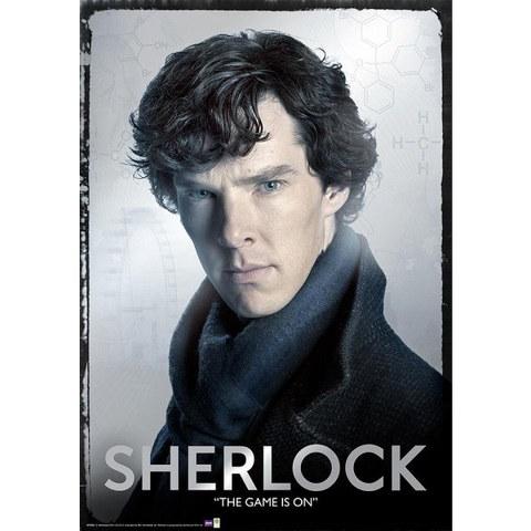 Sherlock Close - Metallic Poster - 47 x 67cm