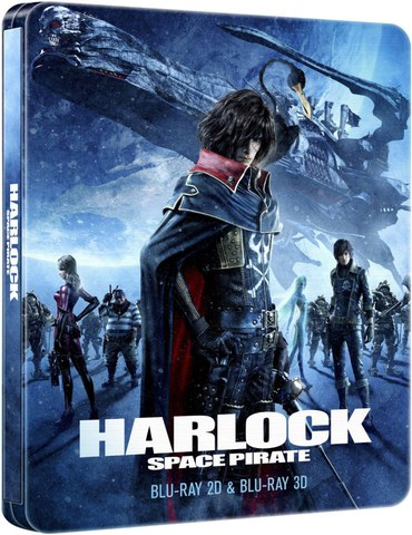 Harlock Space Pirate Steelbook 2D/3D