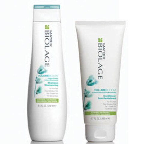 Matrix Biolage advanced VolumeBloom Duo Shampoing et Soin Revitalisant