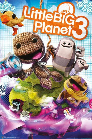 Little Big Planet 3 Cover - Maxi Poster - 61 x 91.5cm