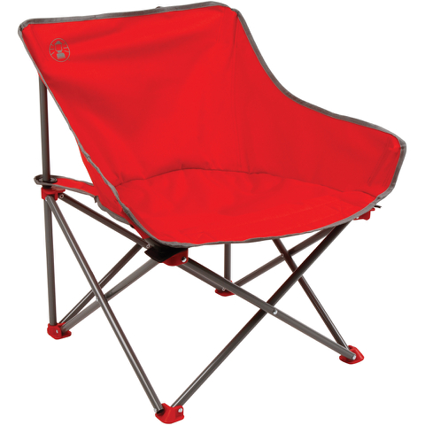 Coleman Kickback Folding Chair - Red