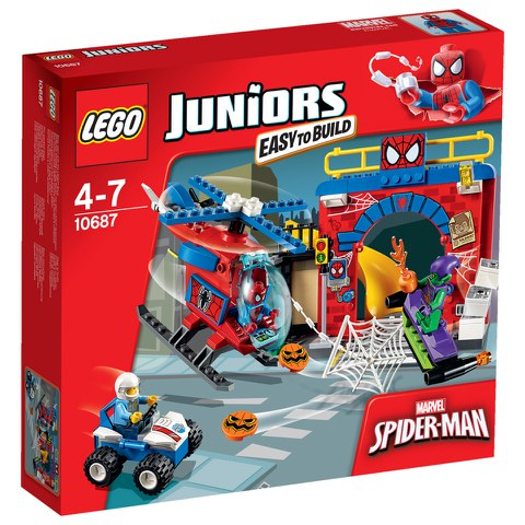 LEGO Juniors: Spider-Man™ Versteck (10687)