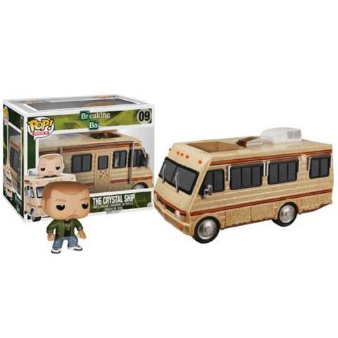 Breaking Bad The Crystal Ship RV with Jesse Pinkman Pop! Vinyl Vehicle