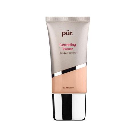 PUR Colour Correcting Primer in Dark Spot Corrector in Peach