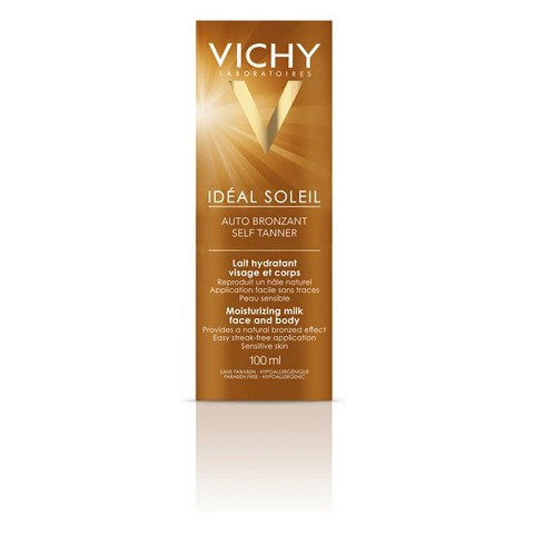 Vichy Ideal Soleil autobronceador cara y cuerpo 100ml