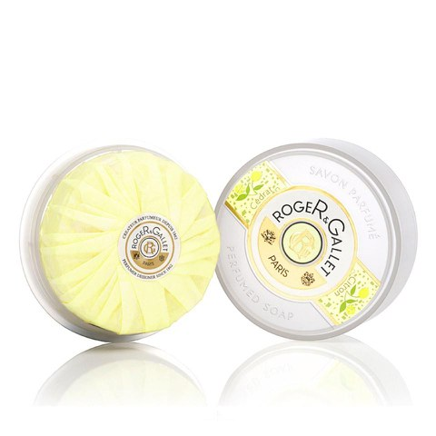 Roger&Gallet Citron Round Soap in Travel Box 100G