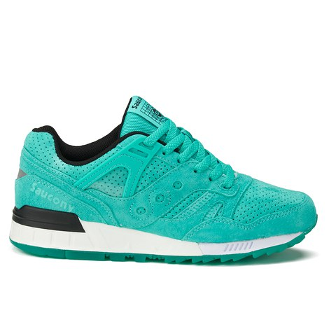 Saucony Men's Grid 9000 Premium Trainers - Light Green