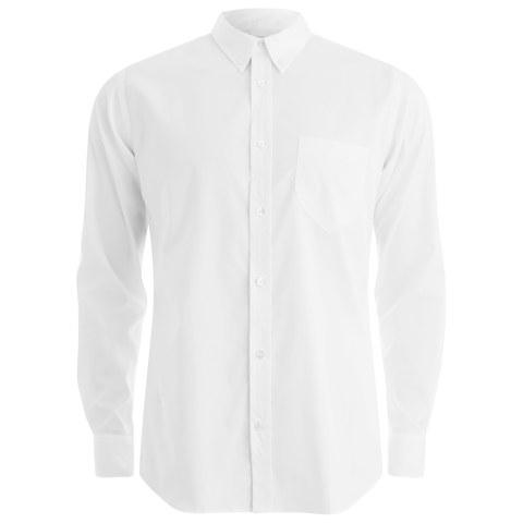 Private White VC Men's Button-Down Oxford Shirt - White