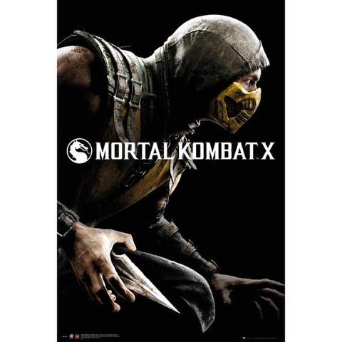 Mortal Kombat X Cover - Maxi Poster - 61 x 91.5cm