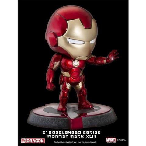 Dragon Bobbleheads Marvel Avengers Age of Ultron Iron Man MK43 Bobble Head Figure