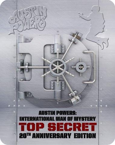 Austin Powers: Misterioso Agente Internacional - Steelbook Exclusivo de Edición Limitada