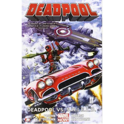 Marvel Now Deadpool: Deadpool Vs. S.H.I.E.L.D. - Volume 4 Graphic Novel