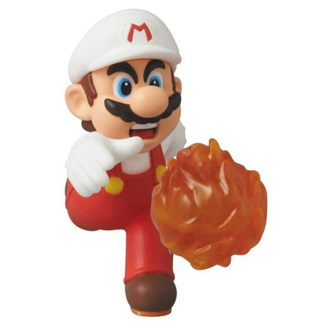 Nintendo Minifigura UDF Serie 2 Fire Mario (New Super Mario Bros. U)