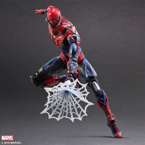 Square Enix Marvel Spider-Man Play Arts Kai Figure