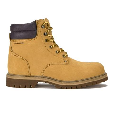 Jack & Jones Men's Stoke Nubuck Boots - Golden Brown