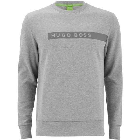 BOSS Green Men's Salbo Sweatshirt - Grey Melange