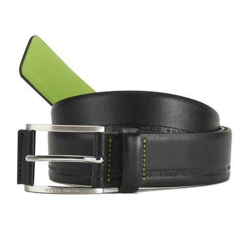 BOSS Green Men's Tymos Belt - Black