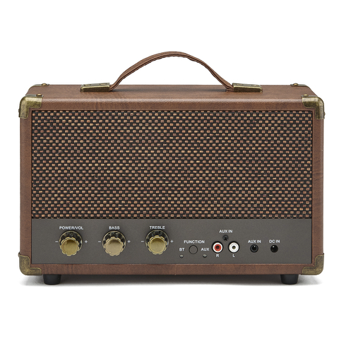 GPO Retro Westwood Bluetooth Speaker - Brown