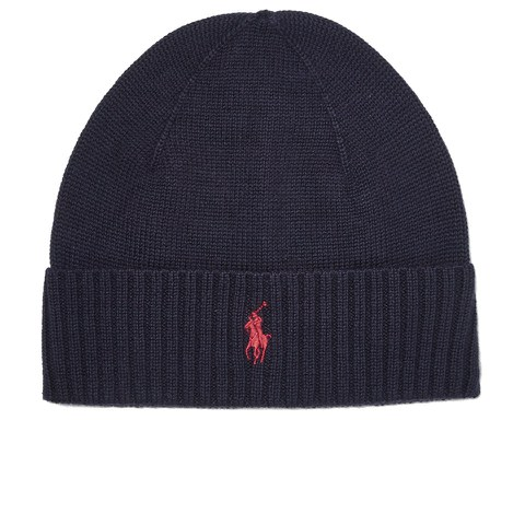 Polo Ralph Lauren Men's Fold-Over Hat - Hunter Navy