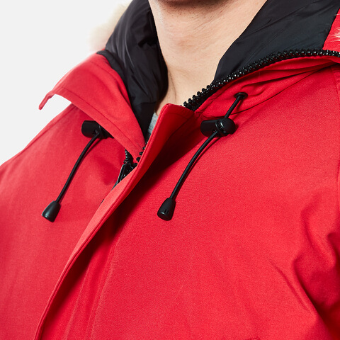 Canada Goose trillium parka replica official - Canada Goose Men's Chilliwack Down Filled Bomber Jacket - Red ...