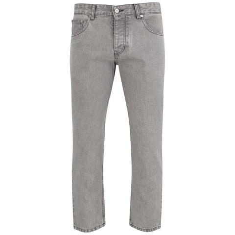 AMI Men's Carrot Fit 5 Pockets Jeans - Grey