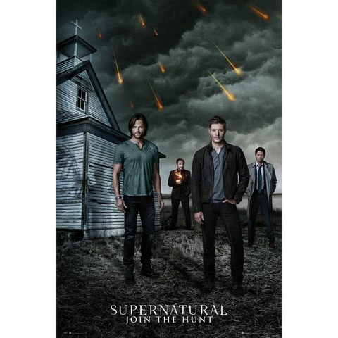 Supernatural Church - 24 x 36 Inches Maxi Poster