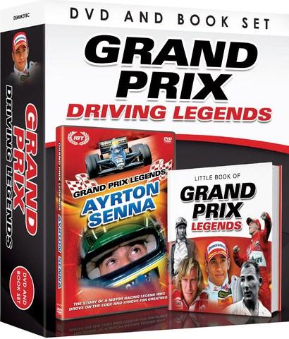 Grand Prix Driving Legends - Includes Book