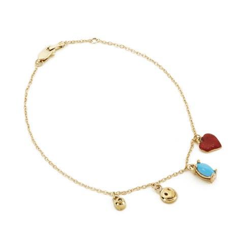 Venessa Arizaga Women's Secret Smile Bracelet - Gold